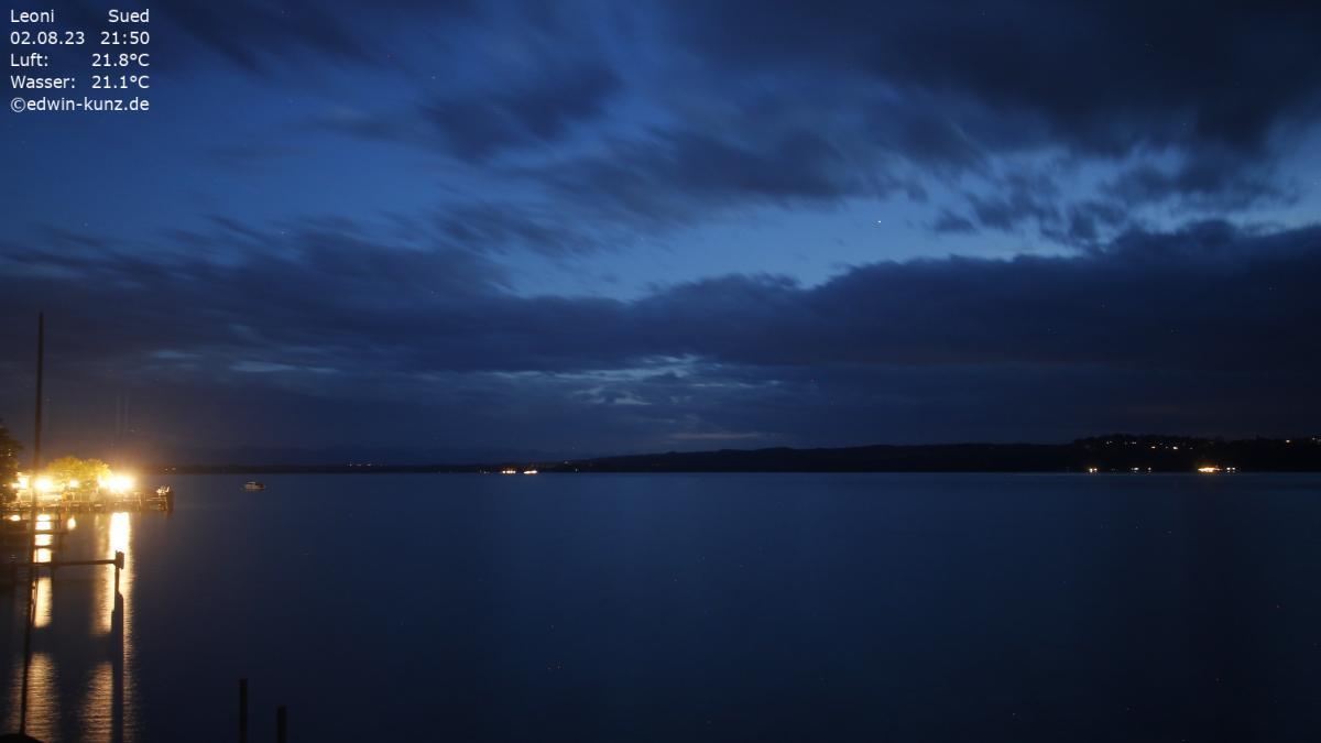 Webcam Starnberger See - Leoni